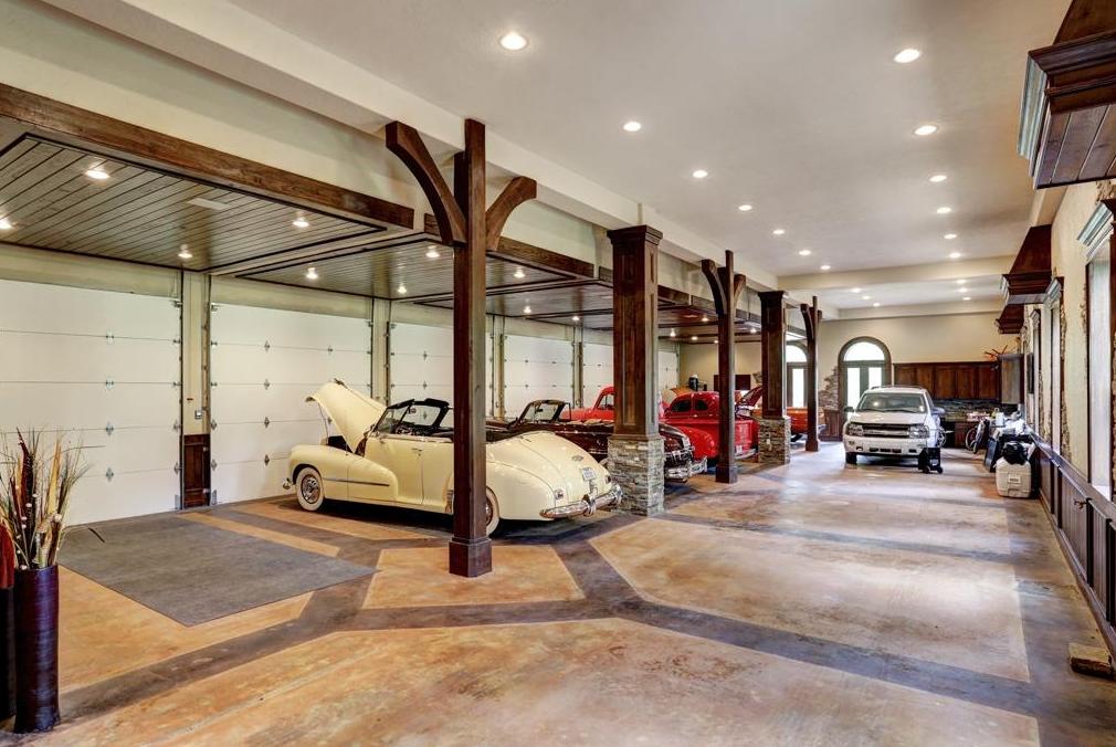 Bel Air Car >> $7.5 Million Mediterranean Mansion In Houston, TX With 15 ...
