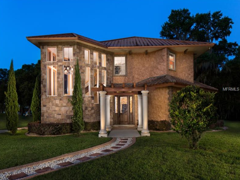 22,000 Square Foot Mediterranean Waterfront Mega Mansion In Mount Dora, FL