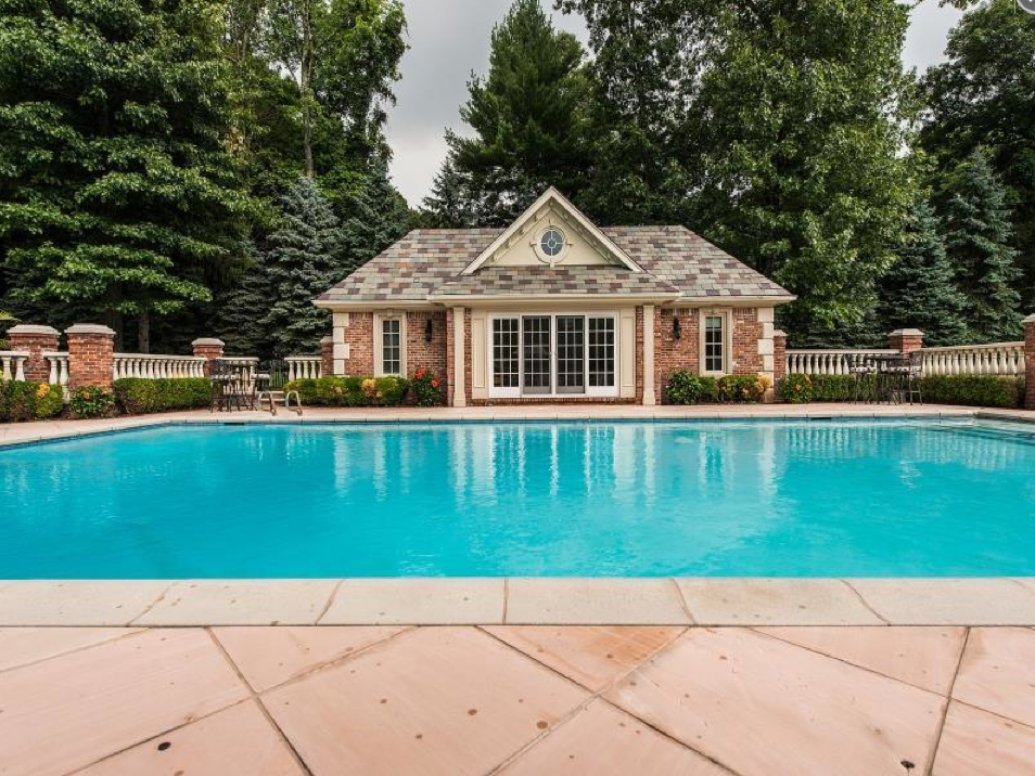 $15.5 Million Newly Listed Brick Georgian Mansion In Saddle River, NJ