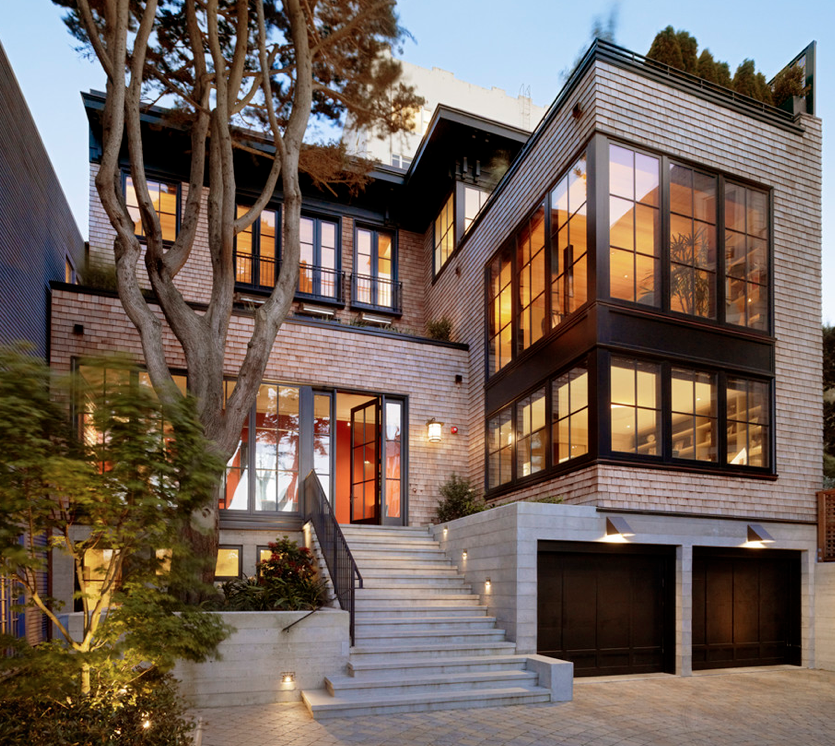 Hotr poll which 3 story contemporary home do you prefer for 3 story house