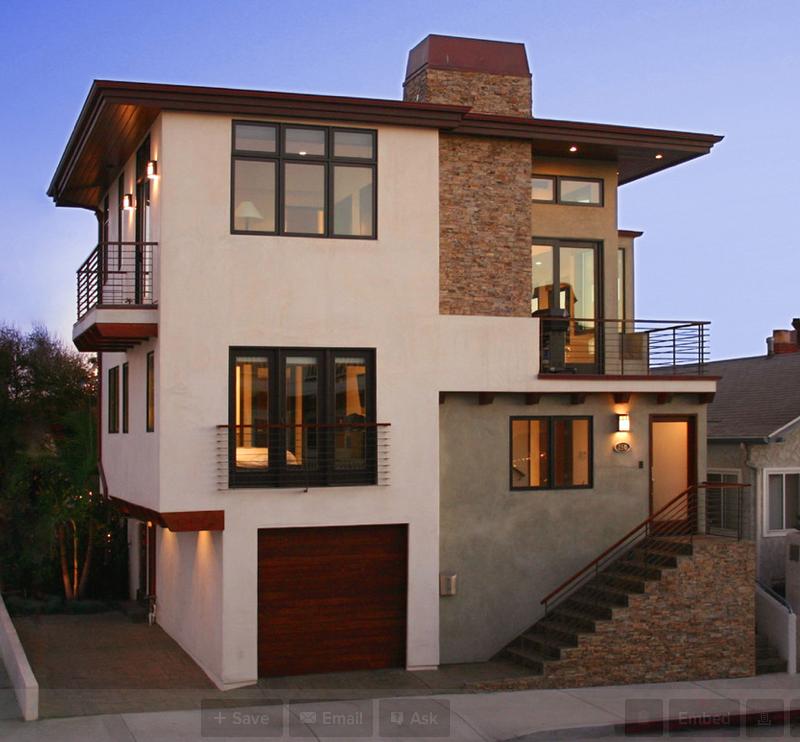 HOTR Poll: Which 3-Story Contemporary Home Do You Prefer?