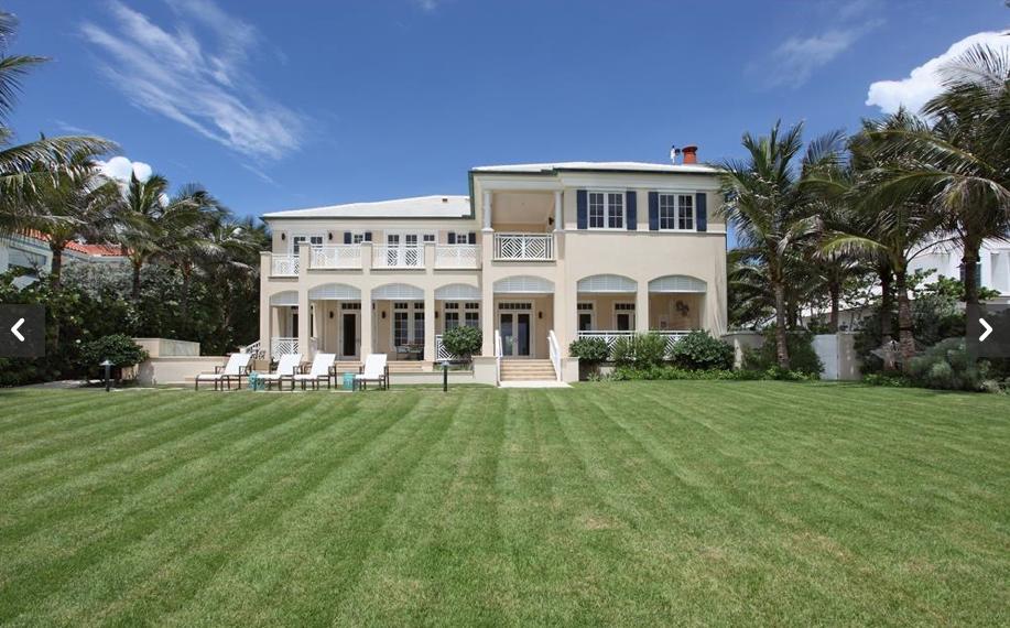 $18.9 Million Newly Built Oceanfront Mansion In Gulf Stream, FL
