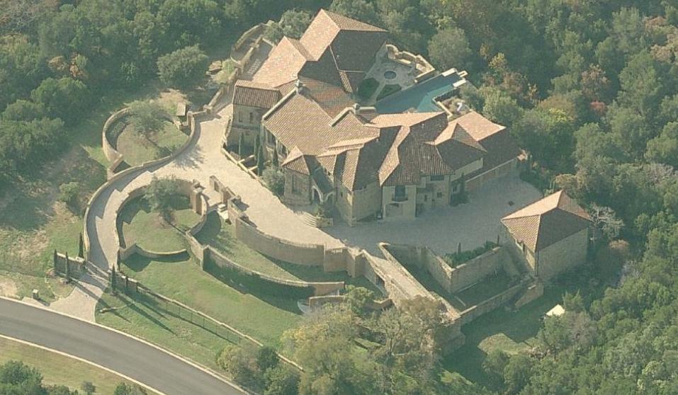 $6.9 Million 14,000 Square Foot Hilltop Mediterranean Mansion In Austin, TX