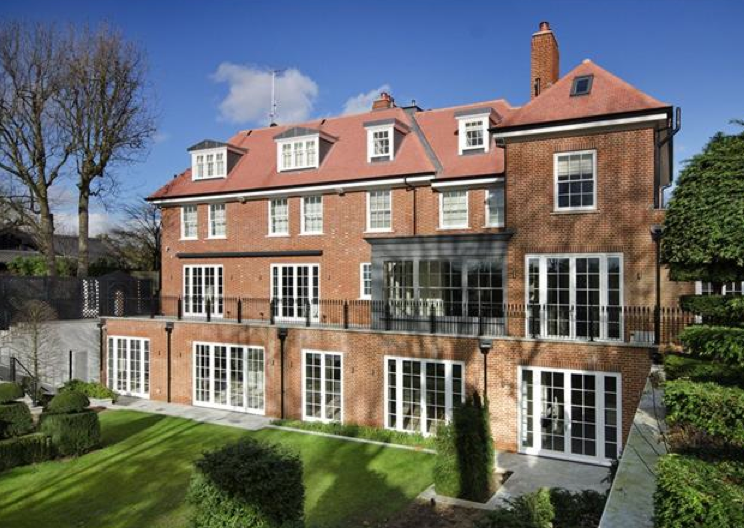 £19.95 Million Newly Built Brick Mansion In London, England