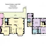 Floor Plans - 1st Floor & 2nd Floor