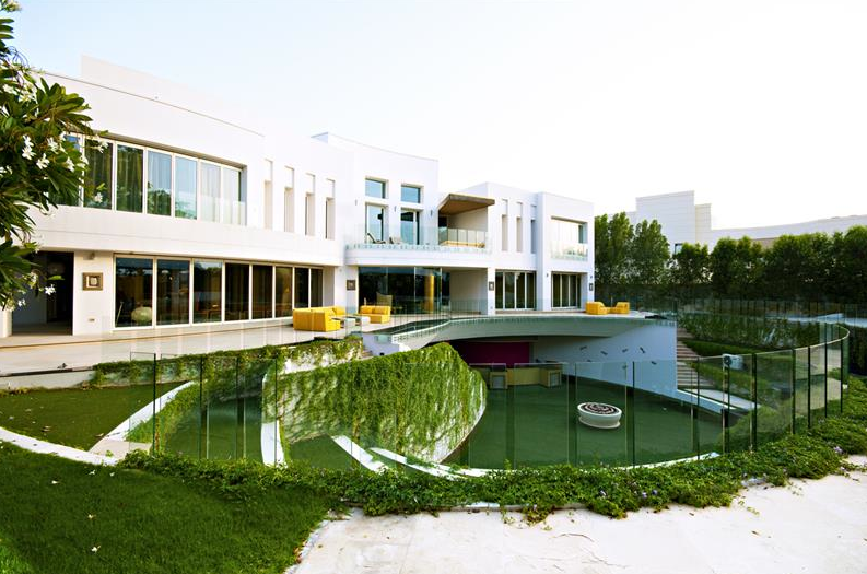 42,000 Square Foot Modern Mega Villa In Dubai