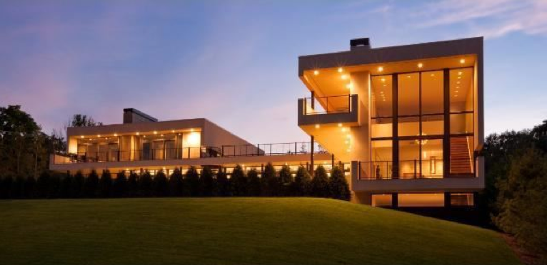 $4.5 Million Sleek Contemporary Home In Saint Louis Park, MN
