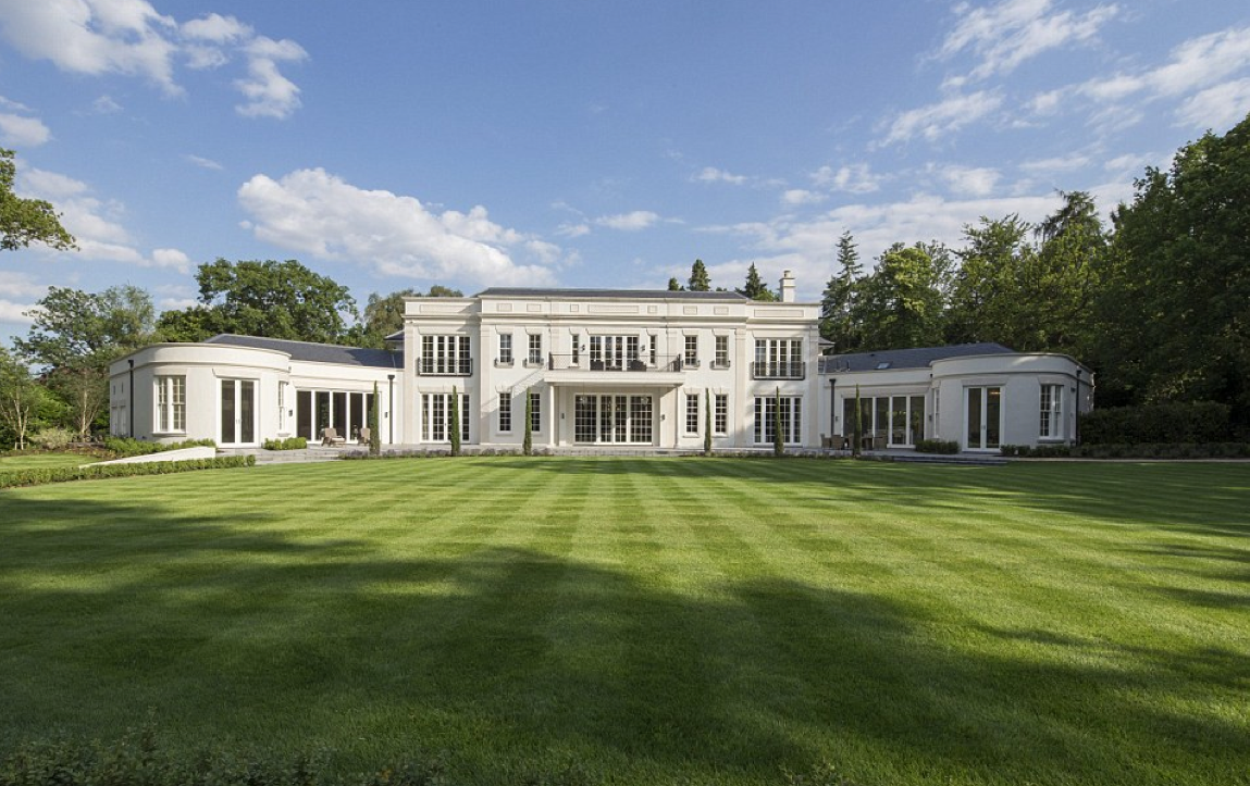 Furze Croft – A £17.5 Million Newly Built Classical Mansion In Surrey, England