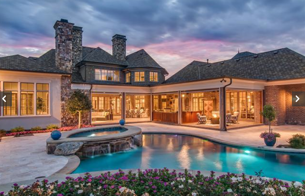 3 4 Million 10 000 Square Foot Brick Mansion In Brentwood