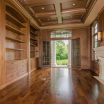 Paneled Home Office