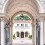 Gated Porte-Cochere