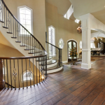 Foyer w/ Double Staircases