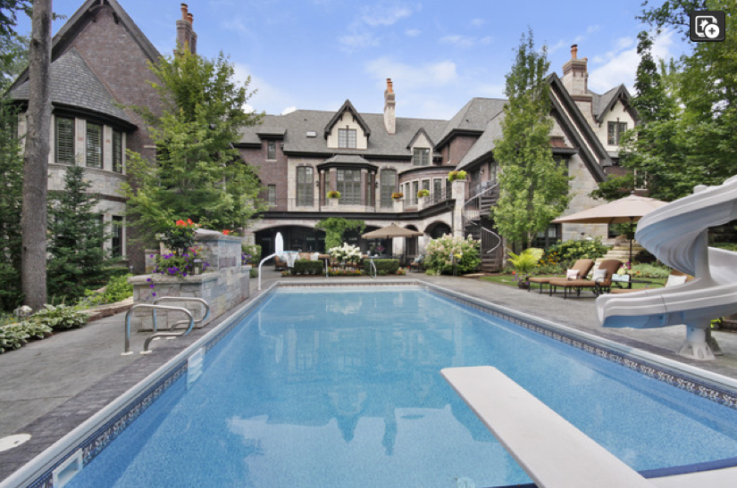 $3.9 Million Brick & Stone French Country Mansion In New ...