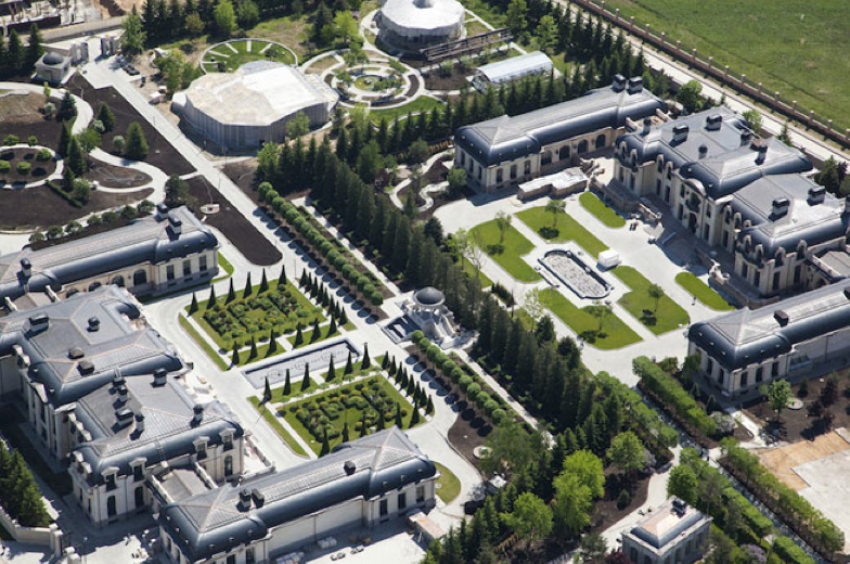 75,000 Square Foot Identical Palaces In Moscow, Russia