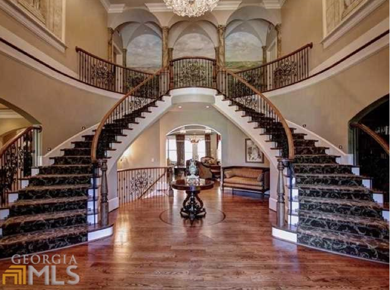 12 000 square foot newly listed brick stone mansion in woodstock ga homes of the rich the. Black Bedroom Furniture Sets. Home Design Ideas