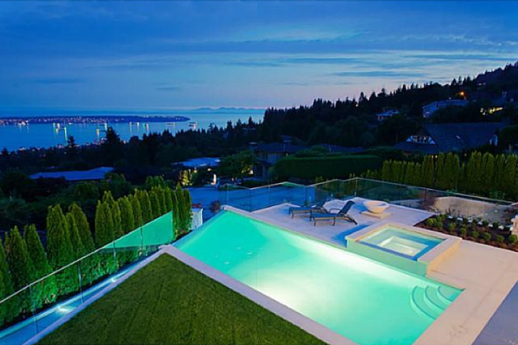 $11.6 Million Newly Built Mansion In West Vancouver, Canada