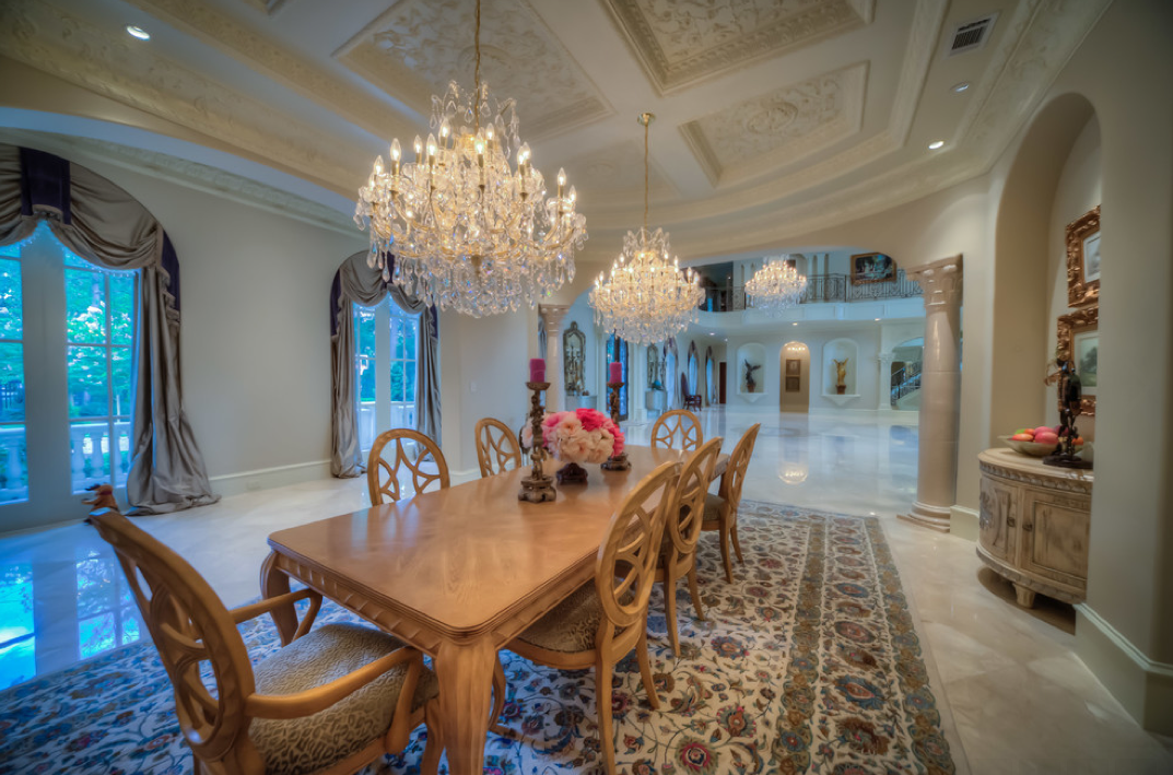 Mediterranean Mansion In Houston Tx With Amazing Foyer Homes Of The Rich