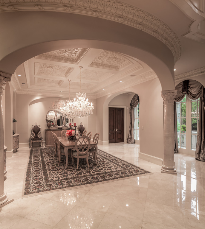 Mansion Foyer : Mediterranean mansion in houston tx with amazing foyer