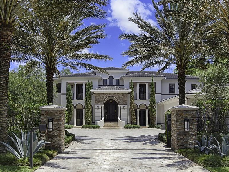 5 45 Million Mansion In Pinecrest Fl Homes Of The Rich