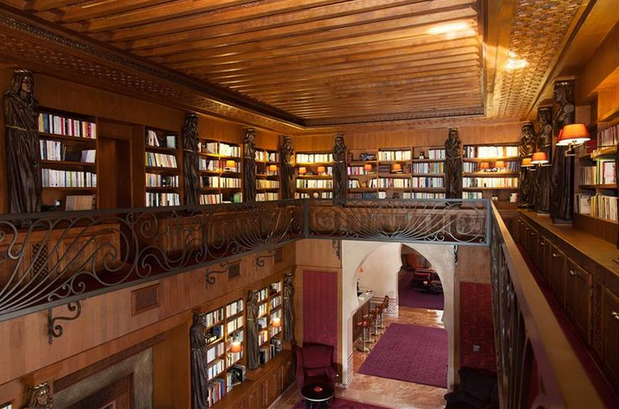 3 Story Library 3-story Library
