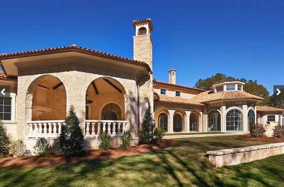 $3.7 Million Newly Built French Country Mansion In Spring Hope, NC