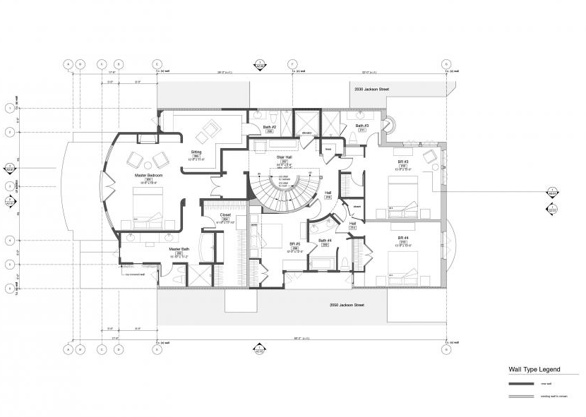 San Francisco Mansion Floor Plans