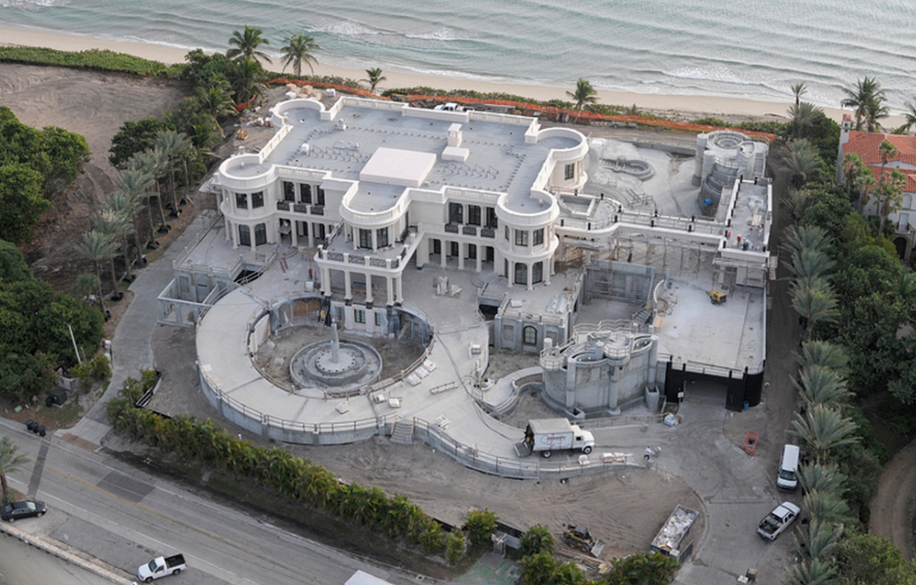 Le Palais Royal A 139 Million 60 000 Square Foot Mega Mansion In Hillsboro Beach Fl Homes Of The Rich