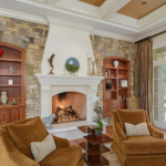 Formal Living Room w/ Fireplace