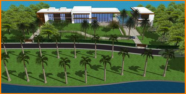 $45 Million 22,000 Square Foot Contemporary Waterfront Mansion To Be Built In Hillsboro Beach, FL