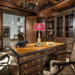 Paneled Library/Home Office