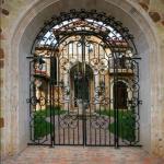 Gated Courtyard Entrance