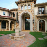 Courtyard & Front Entry