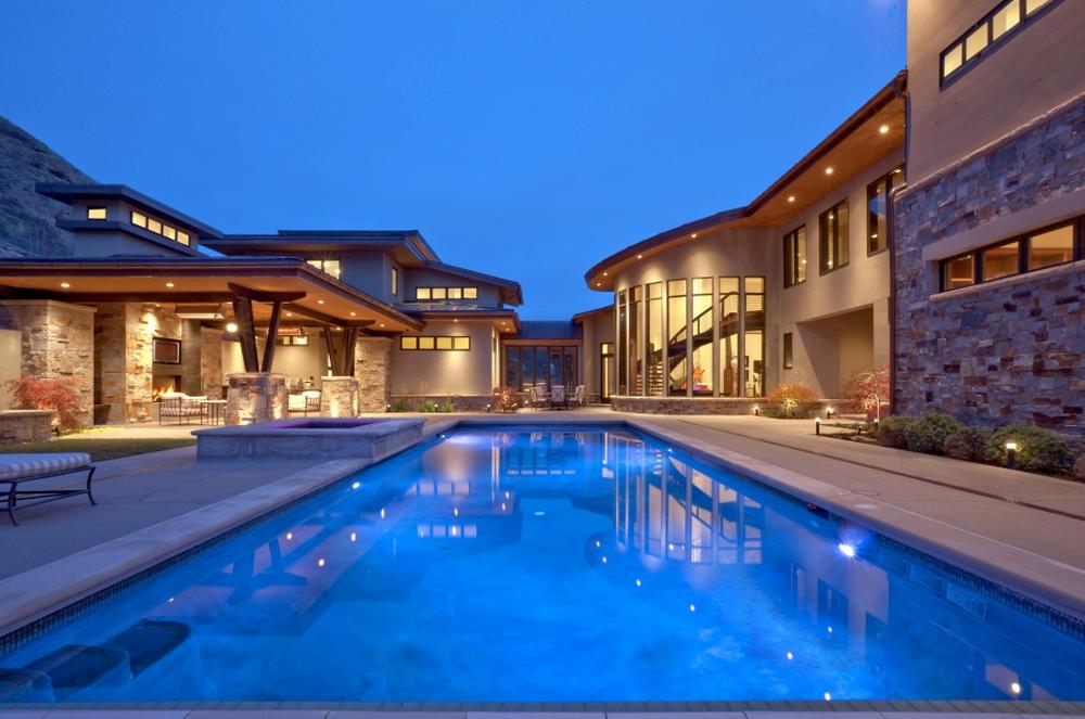 Villa Villagio – A $9.95 Million 10,000 Square Foot Contemporary Mansion in Salt Lake City, UT