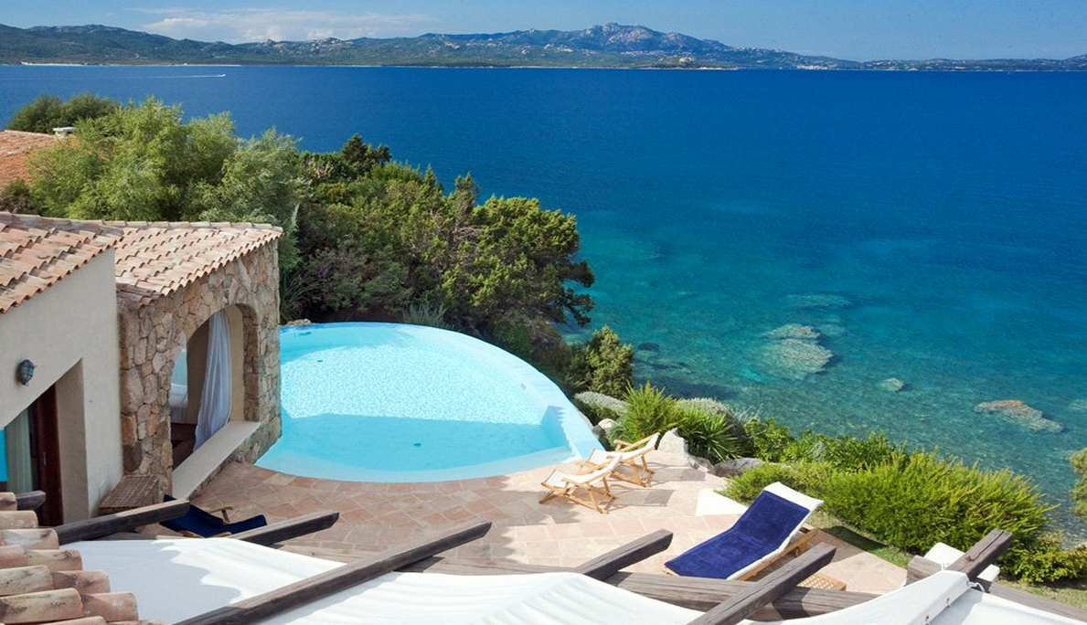 9,000 Square Foot Waterfront Villa In Sardinia, Italy