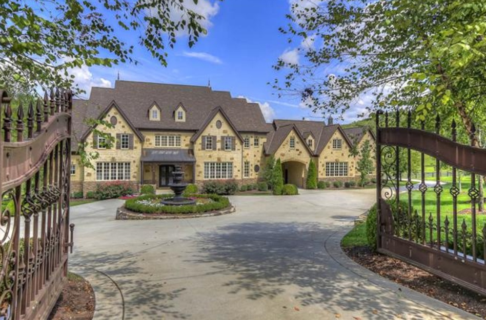 2 75 Million English Country Mansion In Franklin Tn With