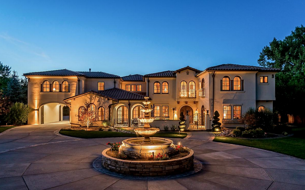 3 million 13 000 square foot italian inspired mansion in for Colorado dream home