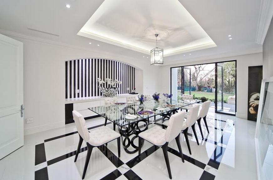 Harrow House - A 19,500 Square Foot Newly Built Modern ...