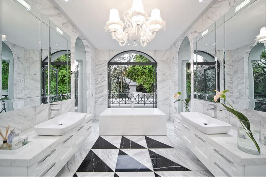 harrow house – a 19,500 square foot newly built modern mansion in