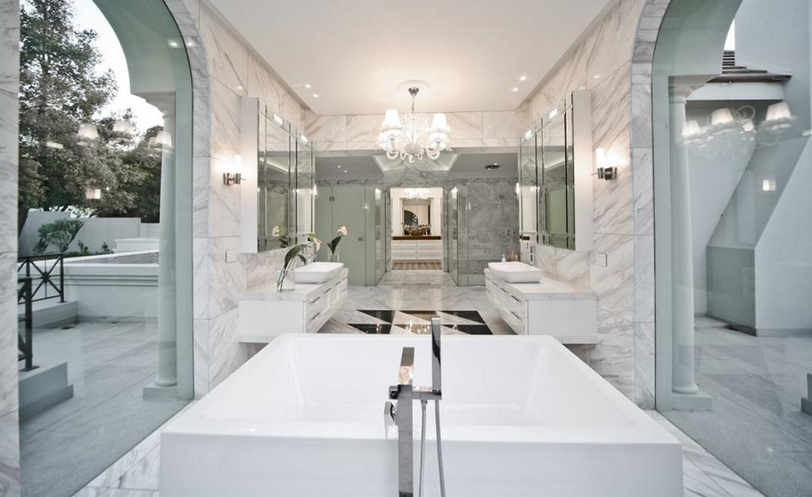 Contemporary Bathrooms South Africa harrow house – a 19,500 square foot newly built modern mansion in