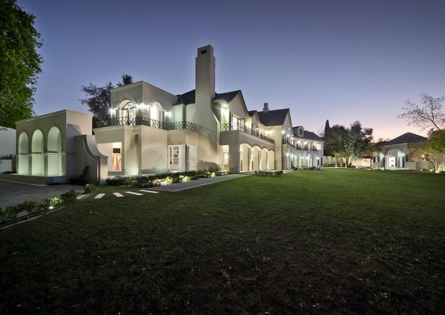 Harrow House – A 19,500 Square Foot Newly Built Modern Mansion In Johannesburg, South Africa