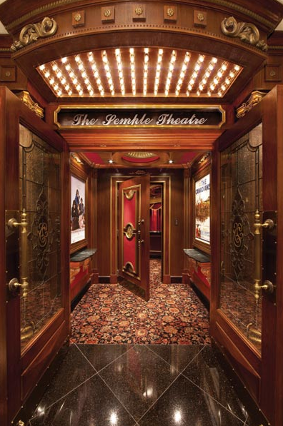 A Look At Some Lavish Home Theater Entrances Homes Of