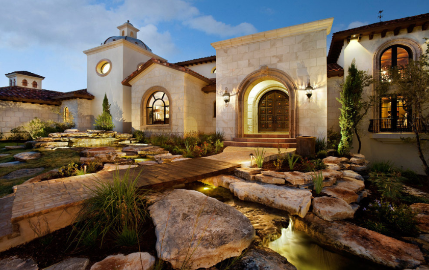 4 5 Million Newly Listed Spanish Style Mansion In Austin