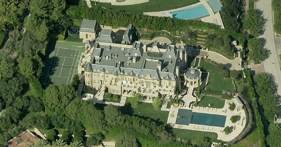 50 Million 27 000 Square Foot French Mega Mansion In