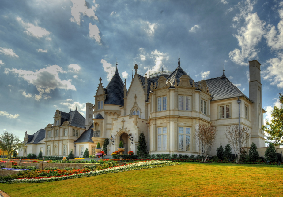Opulent French Inspired Castle Like Mega Mansion In Fort Worth Tx Homes Of The Rich