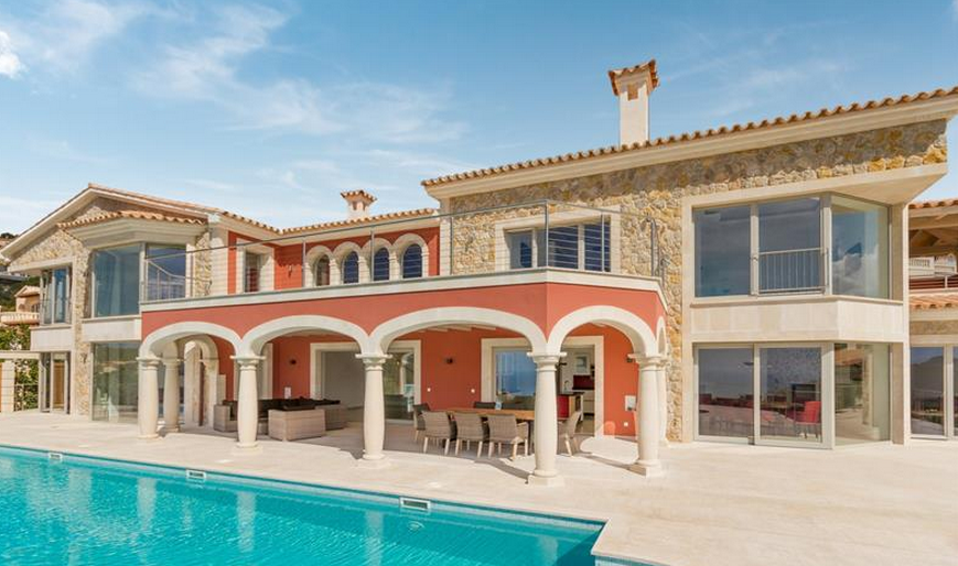 €12 Million Newly Built 10,000 Square Foot Mediterranean Mansion In Mallorca, Spain