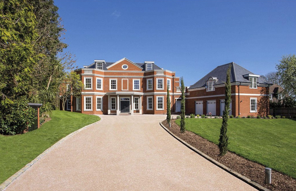 Orchard House An 11 000 Square Foot Newly Built Brick Mansion In Surrey England Homes Of