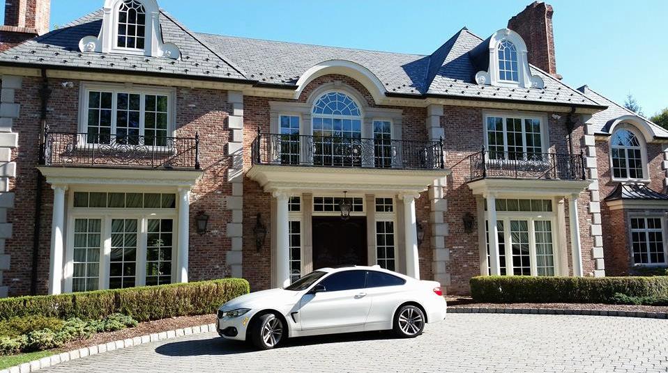 $7.488 Million Brick Colonial Mansion In Saddle River, NJ