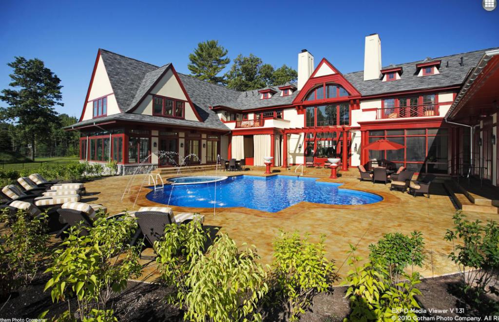 8 5 Million 25 000 Square Foot Mega Mansion In Saratoga