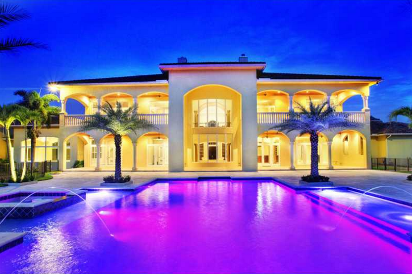 $8.4 Million Newly Built 13,000 Square Foot Mansion In Southwest Ranches, FL