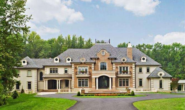 5 8 Million 13 000 Square Foot Newly Listed Mansion In